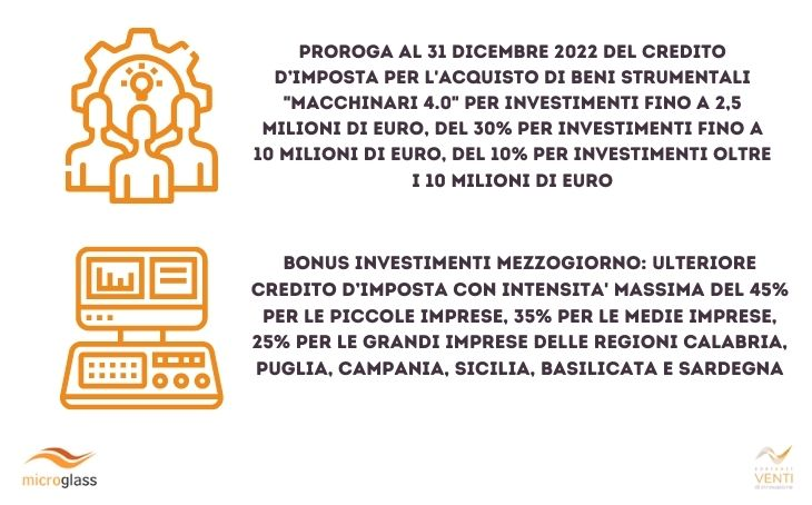 Immagine news I bonus per l\'acquisto beni strumentali Industria 4.0